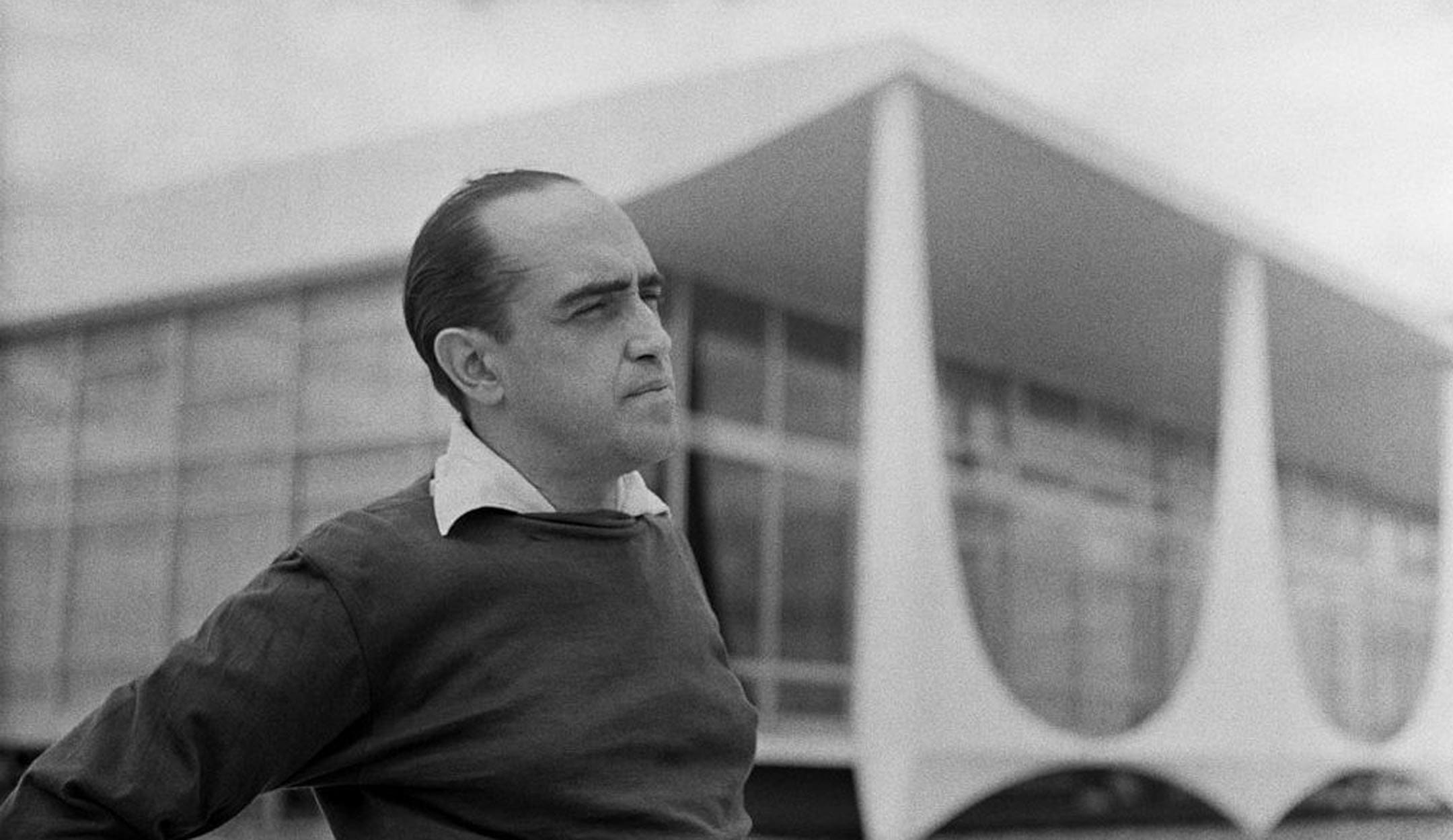 Retrato Oscar Niemeyer