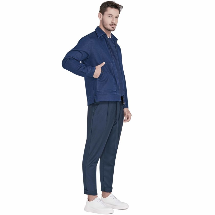 Jaqueta Jeans Lateral